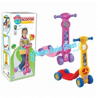 Pilsan Mini 4 Tekerli Mini Scooter 07-811