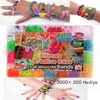 Rainbow Loom Twister Large Set 3000 Ad + 500 Ad Hediyeli