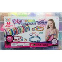 DiyColorful Loombands Lastik Seti 3000 Adet