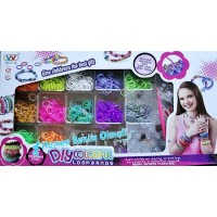 DiyColorful Loombands Lastik Seti - 21075