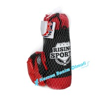 Çocuk Rising Sports Box Torbası ve Eldiveni Set