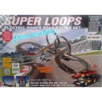 SÜPER SPEED LOOP YARIŞ PİSTİ SLOT CAR 695CM