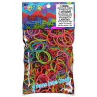 Rainbow Loom Rubber Band  600 Ad Karma Renk