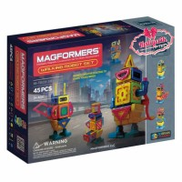 Magformers Walking Robot Hi-Tech Set Line 45 Parça