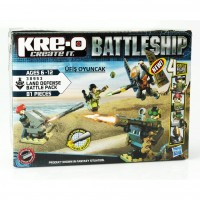 KRE-O BATTLESHIP Land Defense Battle Pack Construction Set