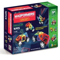 Magformers Wow Vehicle Set Line 16 Parça