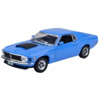 MotorMax 1:18 1970 Ford Mustang Boss 429 Model Araba